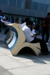 A book seat! love it!